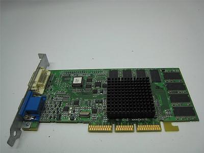 ATI ATi 16MB R128P VGA-DVI AGP Video Card 109-63000-00 XClaim Dual Rage128Pro