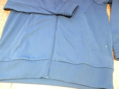 5de9e06f ... New Hugo Boss Mens Blue Sports Jumper Tracksuit Coat Jacket Track Suit  Top Large 4