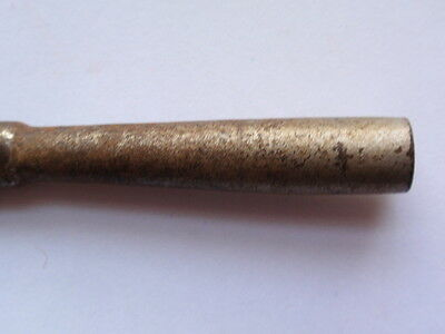 Antique Rusty Steel Clock Key (30) 4