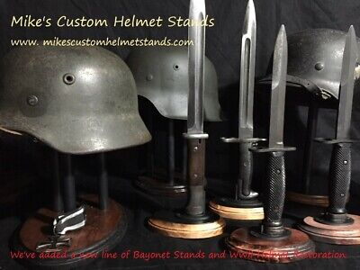 Display Stand for the US-M1 Garand Bayonet & Scabbard  US WWII 12
