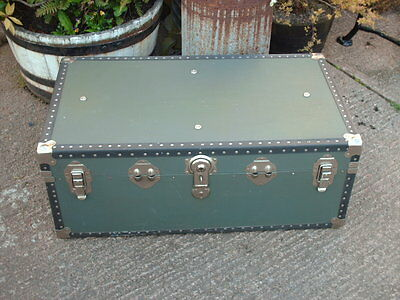 Vintage Travel  Chest / Trunk 5