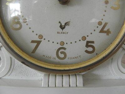 vintage clock alarm blangy retro desk  Art Deco design  Mechanics uhr 6