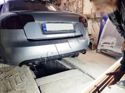 Audi A4 B7 05-07  Saloon / Avant Rear Bumper Diffuser Spoiler