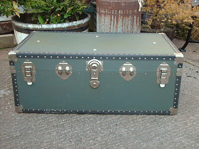 Vintage Travel  Chest / Trunk 2