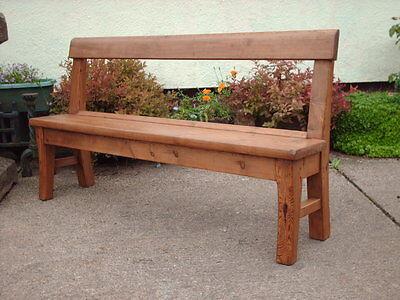 Victorian  Rustic  Pine  Bench 7