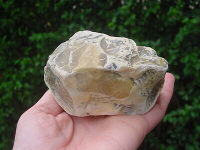 RARE Acheulian Lower Palaeolithic Patinated Flint CORE CHOPPER Hampshire UK 3