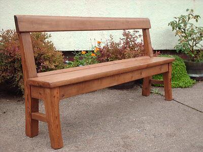 Victorian  Rustic  Pine  Bench 2