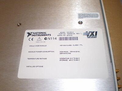 National Instruments Vxi-Mxi-2 Mainframe Extender. C-Size. Rev. 1 W/ Cable> 2