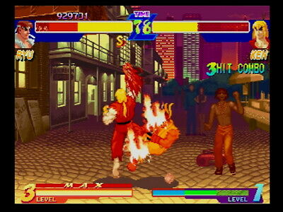 Street Fighter Alpha Anthology Sony Playstation 2 Ps2 Capcom