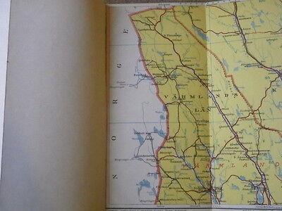 Sweden in Three Parts - Vintage Maps 9