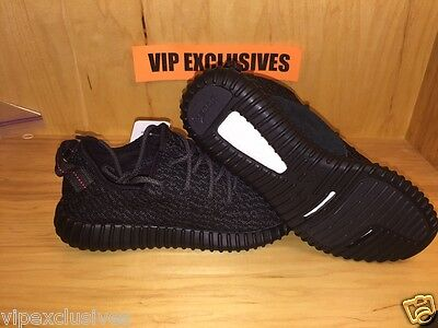 547e59d94 ... Adidas Yeezy 350 Boost Low Kanye West Triple Black Pirate Black AQ2659 5