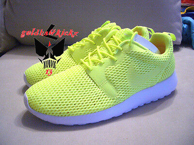 fb4b09926a29f ... Nike Roshe One Hyp BR Breathe Hyperfuse 833125 700 volt 3M men running  shoes 10