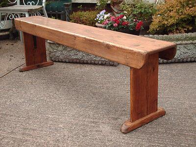 Antique  Rustic  Pine  Bench 3