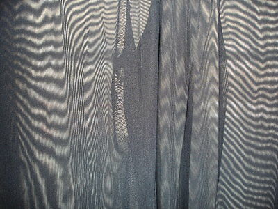 Pantalon sheer taille L noir totale transparence sexy neofan gay inter SEUL P 9