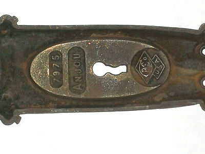 Antique Eastlake Victorian Russell & Erwin Co. Pocket Door Pull Anjou 7975 3
