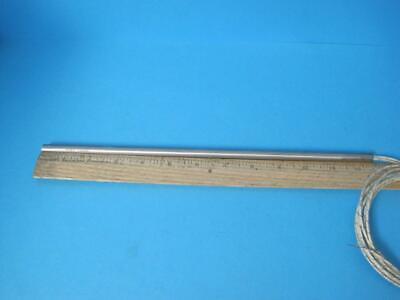 "Watlow 240V 1000W Firerod 1342 12 G12A47-E72 Cartridge Heater 12"" Total Length 7"