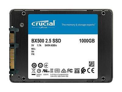 "Crucial BX500 2.5"" 1TB SATA III 3D NAND Internal Solid State Drive (SSD) CT1000B 4"