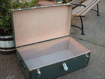 Vintage Travel  Chest / Trunk 8