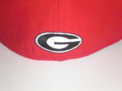 super popular a7b40 d5f0d ... New Era 59Fifty Georgia Bulldogs FROSH Fitted Hat Red 7 3 8 ( 32)
