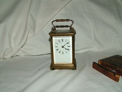 very old antique carriage clock 2