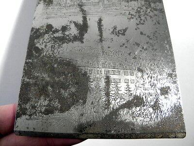 Alte Druckplatte  Sulz a.N. Kurhaus Erholungsheim Krankenhaus - ca. 1940er Jahre 4