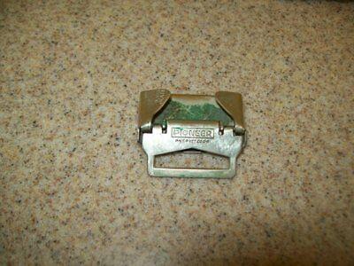 Vintage Belt Buckles Solid Brass Sterling & Pioneer Silver Plate (Lot of 3) 6