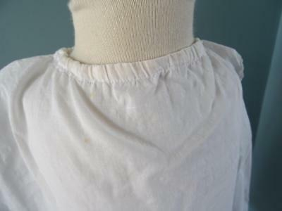 Antique Petticoat Victorian Young Girls White Cotton Embroidered Lace 5