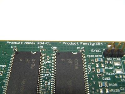 Dalsa OC-64C0-00060 / XL-F130-2064A Dual Port Image Card X64-CL 7