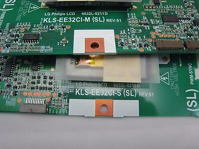 LG PHILIPS TV Master/SLave Backlight Inverter Board Set 6632L-0211D  6632L-0212D