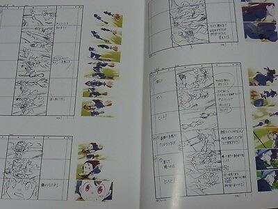 Little Witch Academia Story Board Art Book Vol.1 Epi01-03