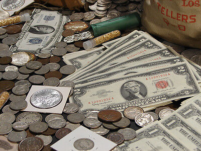 ☆Estate Sale Old Us Coins Lot  ☆ Gold Silver Bullion☆ Currency☆ 50 Years Old+ 4