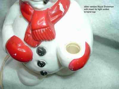 1 of 9 replacement or conversion cord for older royal bubble light santa snowman 2 - Santa Snowman 2