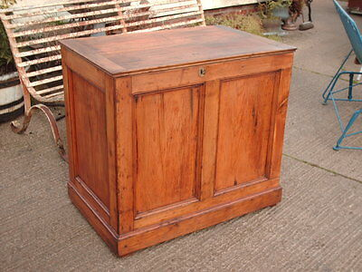 Victorian  Rustic  Pine  Coffer /  Chest / Bedding  Box 3