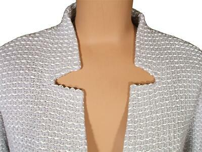 JOHN Knits Clair Knit African Red Topper Jacket Blazer sz 12 $1495 NWT ST