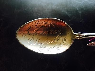 1890s Sterling Silver Teaspoon 2