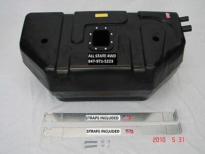 "1987-1995 Jeep YJ Wrangler 15//20 gal /""Plastic/"" fuel tank skid plate"