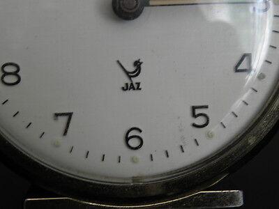 old RETRO clock alarm jaz discreto desk Art Deco design vintage Mechanics uhr 2