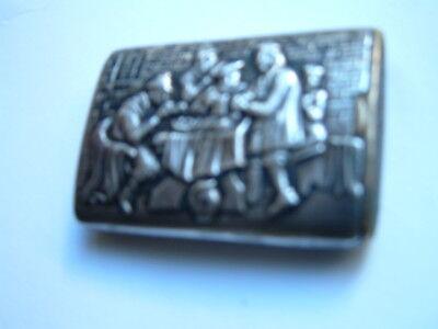 Antike 835 Silberne Zündholzer Dose (Match Safe) 4