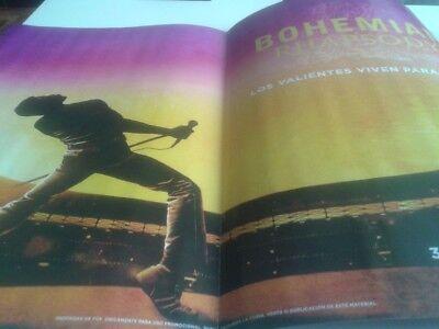 Queen Bohemian Rhapsody Cinerama Spanish mag Freddy Mercury no CD OST soundtrack