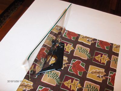 """NEW REPLACEMENT CONVEX CLOCK or CRAFTING GLASS NOS  7 3/4"""" Square 3/4"""" rise 5"""
