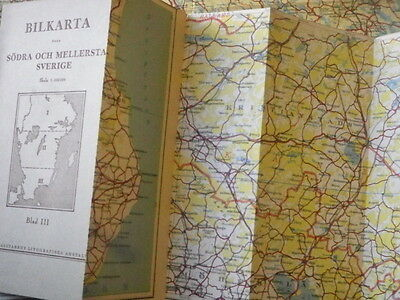 Sweden in Three Parts - Vintage Maps 7