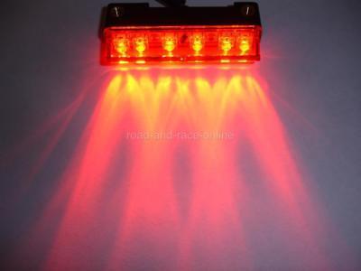 12 Volt Universal Led Rear Light Rain Safety Light For Race