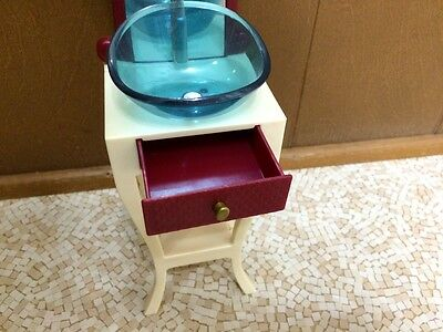 Pleasant Barbie Doll Fashion Fever Bathroom Vanity Sink Mirror Home Ncnpc Chair Design For Home Ncnpcorg