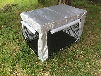 "30""36""42""48 Metal Collapsible Pet Dog Rabbit Puppy Wire Cage Pen Crate Enclosure 10"