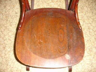 Beautiful Antique Wooden Rocking Chair 3