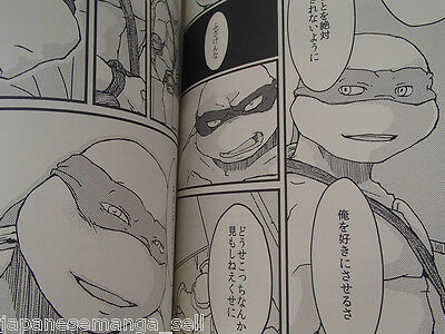 Teenage Mutant Ninja Turtles doujinshi Raphael X Leonardo Roller-coaster 194page