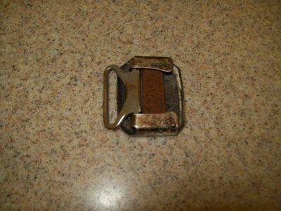 Vintage Belt Buckles Solid Brass Sterling & Pioneer Silver Plate (Lot of 3) 9