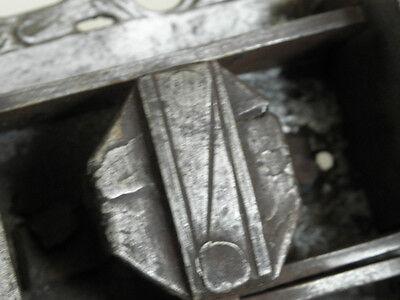 antique ornate Slide Bolt Latch Lock door old Castle Handmade SMITH MADE 7