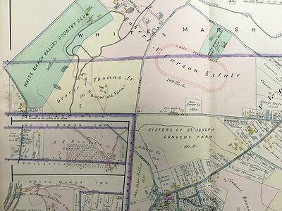 1909, MONTGOMERY COUNTY, Pa, Springfield Twp, Flourtown, Copy Plat Atlas Map