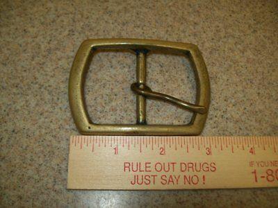 Vintage Belt Buckles Solid Brass Sterling & Pioneer Silver Plate (Lot of 3) 4
